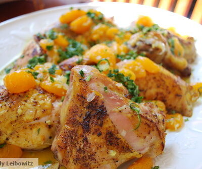 Zesty Chicken with Tangy Citrus Dressing