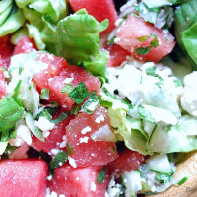 Watermelon, Mint & Feta Salad
