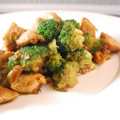 Homemade Chicken & Broccoli