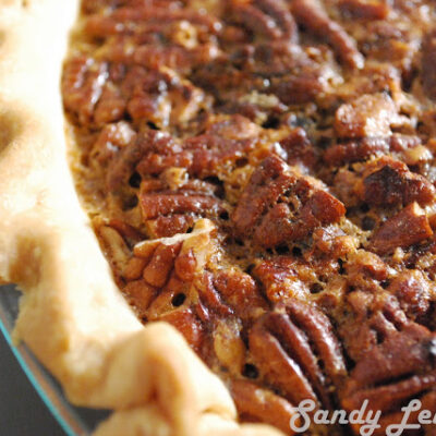 [Not so sweet]  Pecan Pie