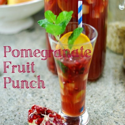 Pomegranate Fruit Punch