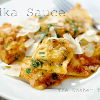 Ultimate Vodka Sauce