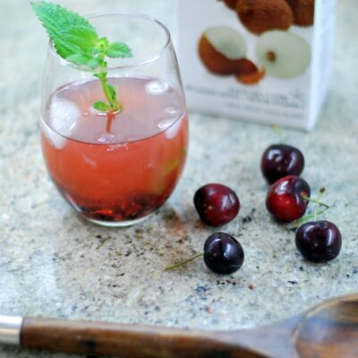Lychee Cherry Cocktail
