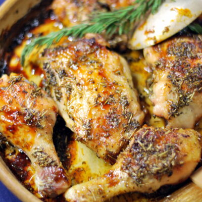 Rosemary Lavender Chicken + Giveaway!