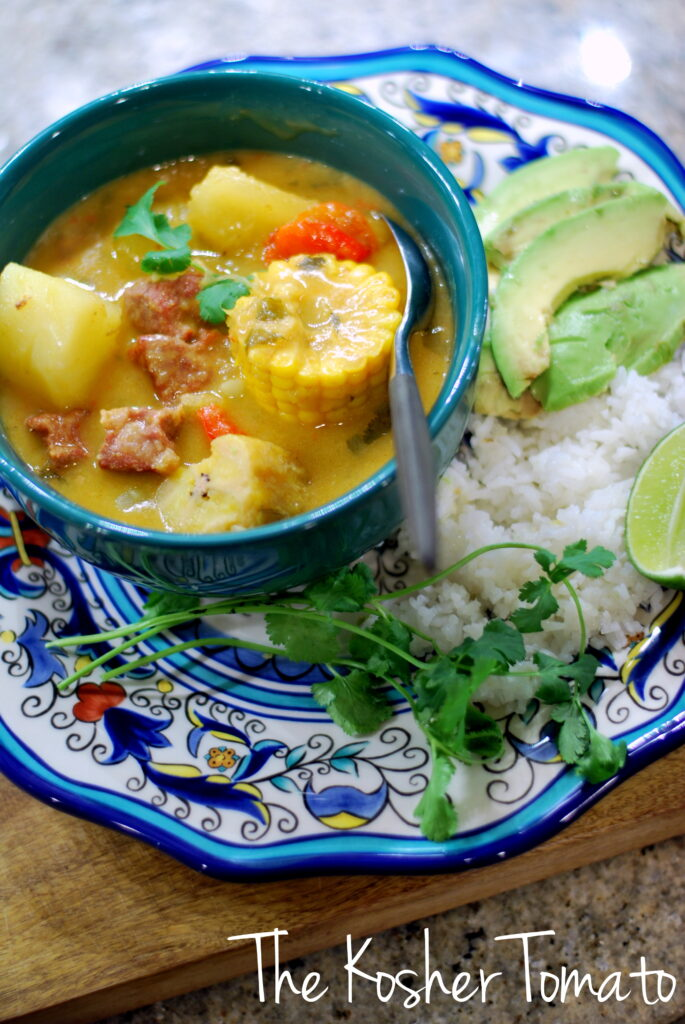 Sancocho vertical