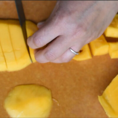 How to Peel & Cut Mango